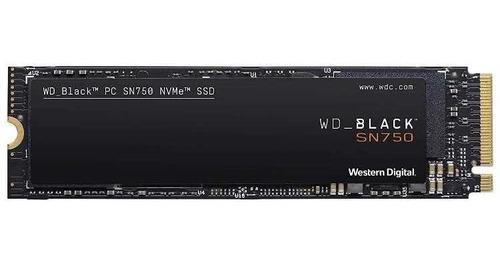 Ssd Gaming Wd Black Sn750 Nvme 1tb 3d Nand