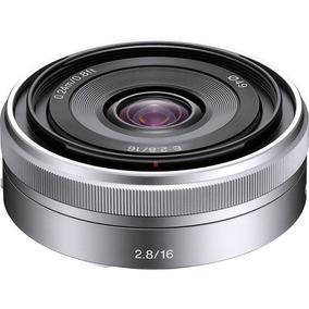 Lente Sony E 16mm F2.8 E-mount Sel16f28 Nova !
