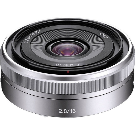 Lente Sony E 16mm F2.8 E-mount Sel16f28 Nota Fiscal