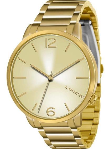Relógio Unisex Analógico Lince Lrgj043l