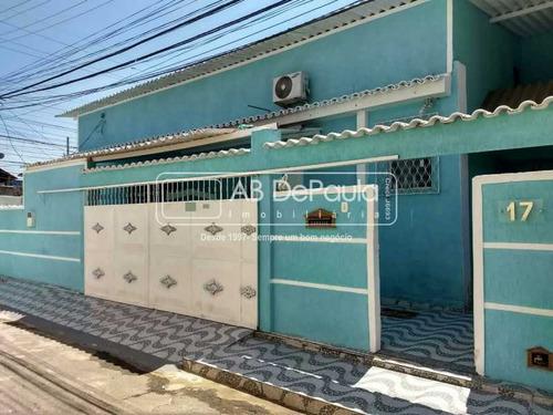Realengo - Próximo Ao Dom Atacadão Supermercado. Excelente Casa Linear, Composta De 2 Quartos - Abca20113