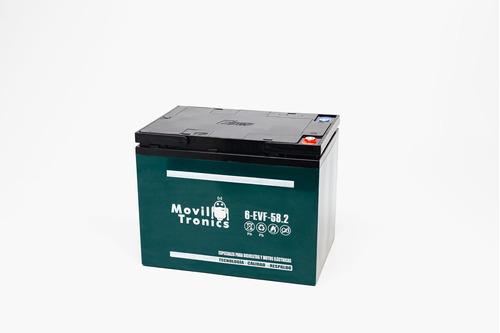 Batería Gel 12v 58ah Ciclo Profundo, Vehículos Electicos Evf