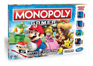 Monopoly Gamer Super Mario Bros Niños Adultos En Español