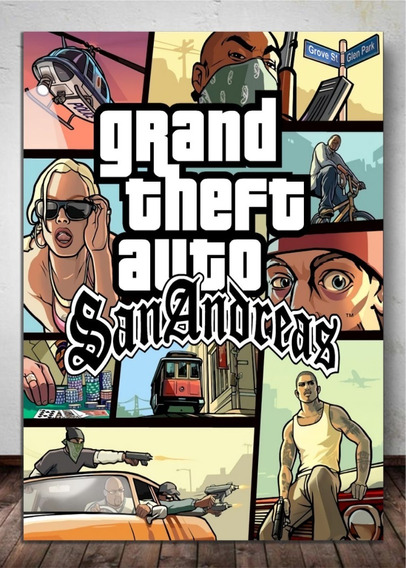 Gta San Andreas Para Pc - Mídia Digital + Bônus