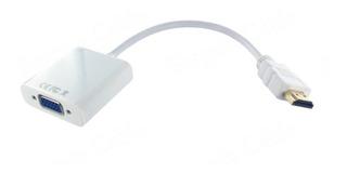 Cable Adaptador Conversor Hdmi Hd A Vga Análogo Lta520