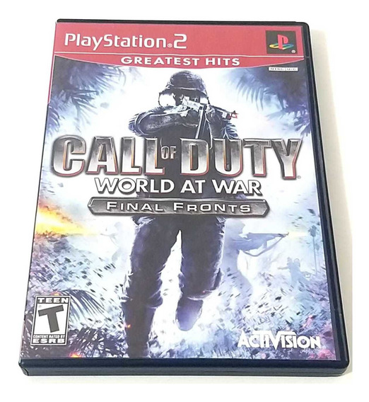 Call Of Duty World At War Playstation 2 Ps2 Original Complet