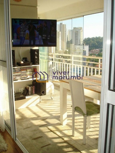 Imagem 1 de 15 de Excelente Apartamento, Novo, 3 Dormitórios E Varanda Gourmet - Nm3483