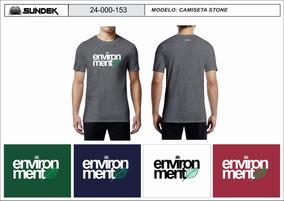 Camiseta Sundek Stone Original