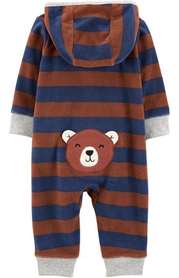 Mameluco Jumpsuit Carters De Polar Niño Bebe 12 Meses