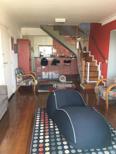 Imagem 1 de 30 de Cobertura Com 3 Dormitórios À Venda, 272 M² Por R$ 1.500.167,00 - Alto Da Lapa - São Paulo/sp - Co0006