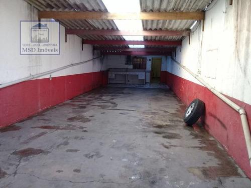 Imagem 1 de 5 de Terreno A Venda No Bairro Vila Barros Em Guarulhos - Sp.  - 1416-1