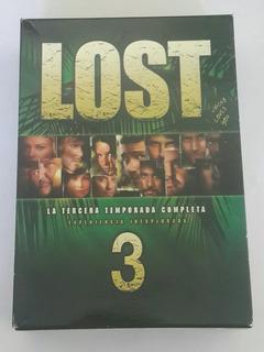 Box Set Lost - Tercer Temporada Completa - Dvds Originales