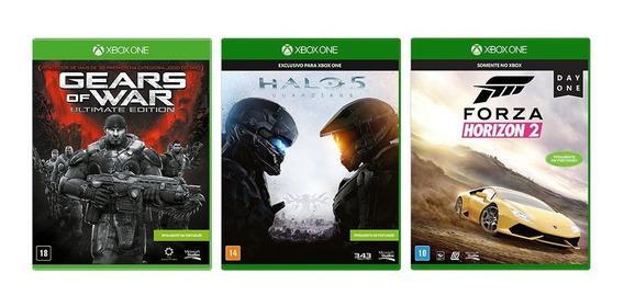 Gears Of War Ultimate + Halo 5 Guardians + Forza Horizon 2
