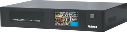Dvr 8 Canais Analogico Touch Screen  Multitoc