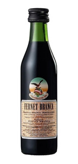 Fernet Branca Mini - Pack De 12 Botellitas X 50ml - Souvenir