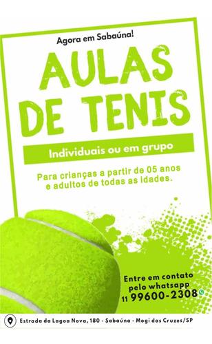 Imagem 1 de 1 de Aulas Particulares De Tenis Em Mogi Das Cruzes
