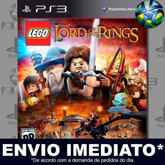 Lego The Lord Of The Rings Ps3 Psn Jogo Em Promoção Play 3