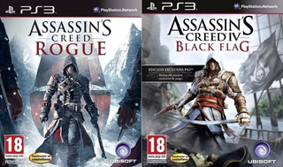Assassins Creed Rogue + Assassins Creed 4 ~ Ps3 Digital