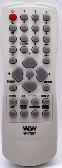 Controle Remoto Para Tv Panasonic Wlw-7357