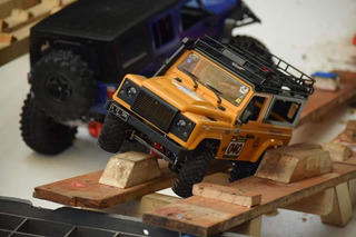 Rc Offroad 4x4 Crawler Defender 1/12