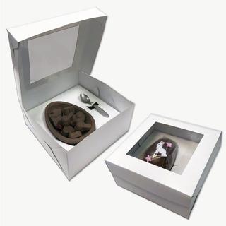 Caja Para Huevos De Pascua Nº 12 Y 15 Medio Huevo Pack X 25