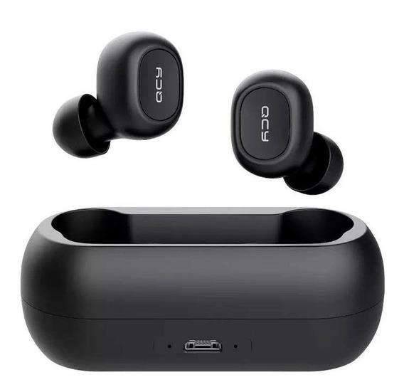 Fone Qcy T1c Original Bluetooth 5.0 + Case (frete Grátis)