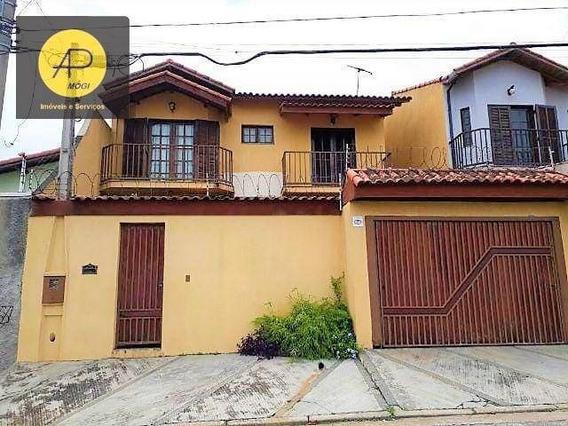Ótimo Sobrado Com 3 Dormitórios, 128 M² - Jardim Universo - Mogi Das Cruzes/sp - So0123