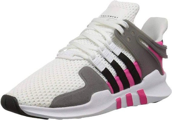 *adidas Eqt Support Adv J White/pink #19cm *nuevo Sin Caja *