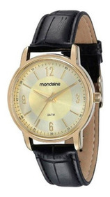 Relógio Mondaine Feminino Social Pul. De Couro 83278lpmvdh1