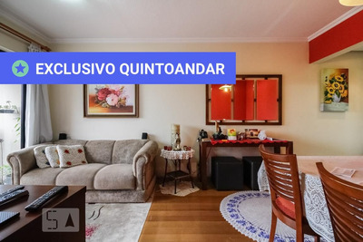 Apartamento No 13º Andar Mobiliado Com 2 Dormitórios E 1 Garagem - Id: 892906565 - 206565