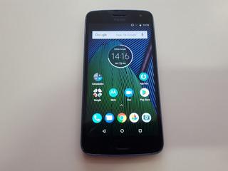 Moto G5 Plus Azul Usado Defeito 32gb