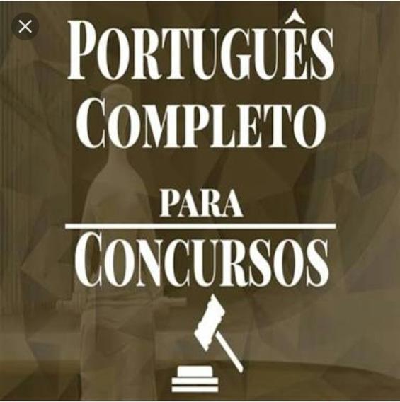 Curso Português Para Concursos - Completo Em Mídia Física