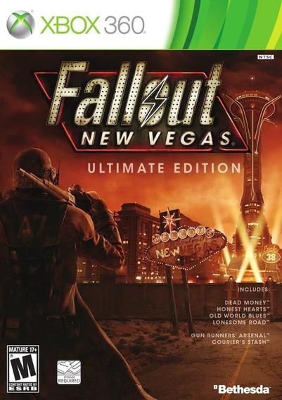 Fallout New Vegas Ultimate Edition (m Física) Xbox 360 Novo