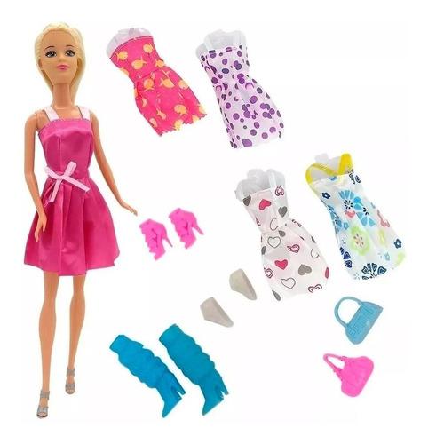 Poppi Doll Muñeca Kiara Fashion 25 Piezas