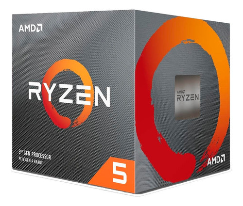 Imagem 1 de 3 de Processador Amd Ryzen 5 3600x Cache 32mb 3.8ghz 4.4ghz Max