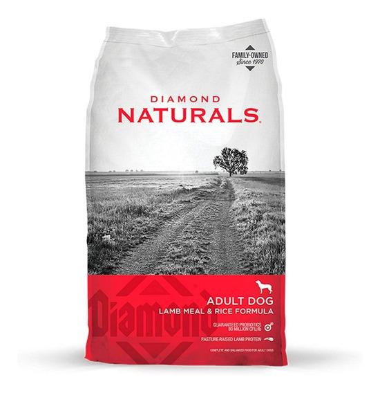 Diamond Naturals Cordero Adulto 18 Kg - Lamb Meal & Rice