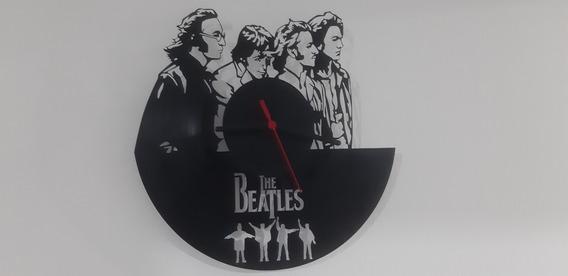 Relógio De Parede, The Beatles, Disco De Vinil.
