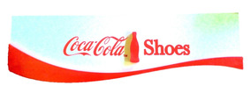 Placa Coca Cola Shoes Merchandising Original