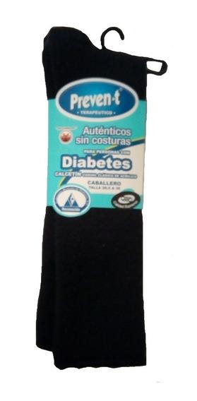 3 Pares Calcetines Preven-t Caballero Pie Diabetico Afelpado