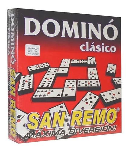 Domino Clasico   24 X 24 X 4 Cm