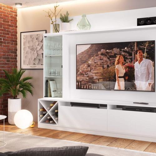 Imagem 1 de 5 de Estante Home Para Tv Até 60 Polegadas 1 Porta De Fh