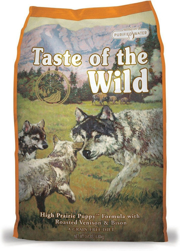 Imagen 1 de 2 de Taste Of The Wild Puppy Bisonte 14lb - kg a $26714