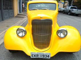 Gm/chevrolet 1934 Motor Gm 350 Amarelo Duas Portas