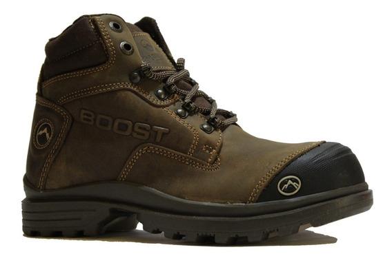 Bota Industrial Trabajo Boost 401 Acero Zapato Seguridad