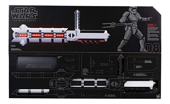 Star Wars Force Fx Z6 Riot Control Baton The Black Series