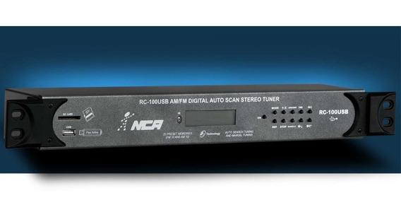 Receiver Rc100usb Tuner Estéreo Com Tecnologia Digital