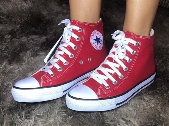 Tênis Converse All Star Cano Alto Vermelho (botinha)