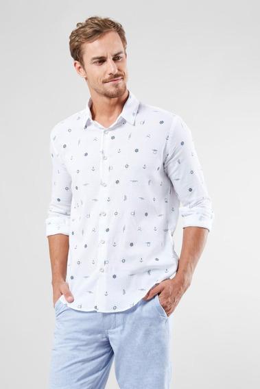 Camisa Pf Ml Nautica Reserva