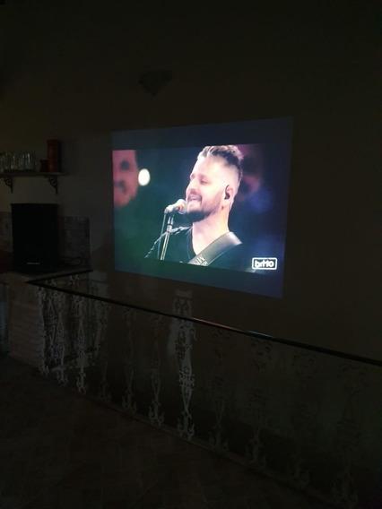 Projetor Sony Cinema Vpl - Dx100 + Telão + Suporte