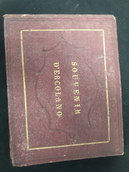 Antiguo Álbum De Postales. Muceo Napoli Año 1900